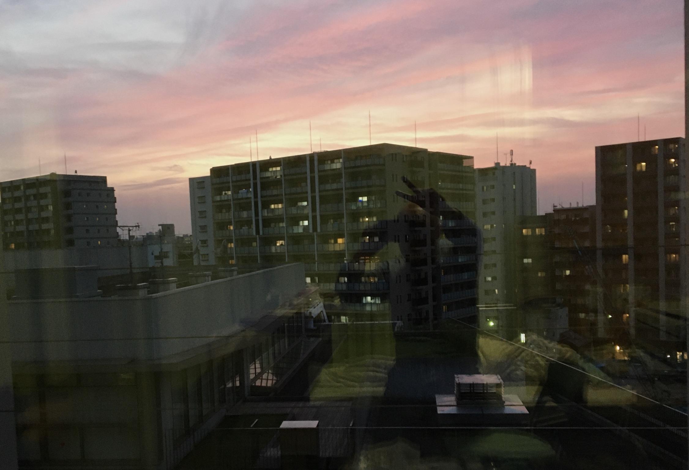 最後の病棟生活を楽しむ。
